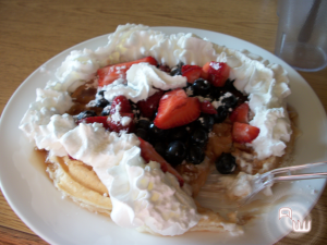 A Waffle of Mass Proportions
