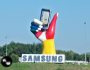Finding Samsung in my Travels…