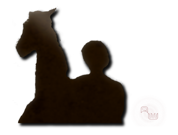 Horse and Rider (PNG Image)