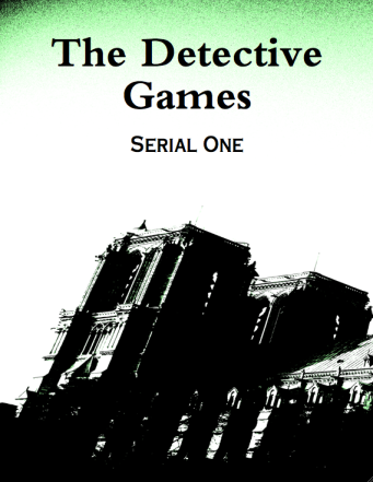 The Detective Games (eBook Cover)